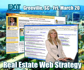 Greenville SC Real Estate Web Strategy Training - Friday March 20, 2009