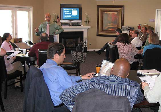 The Blogger was Out-Blogged by his students – Lexington Columbia SC Real Estate Training March 2009