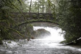Bellingham Whatcom Falls Bridge