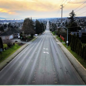 Alabama Street in Bellingham Washington