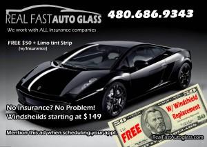 Real Fast Auto Glass Arizona Cash Back Mobile Auto Glass AZ