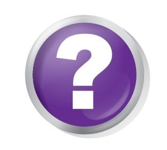 social media icons - question mark
