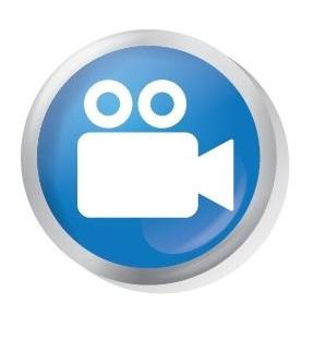 social media icons - video