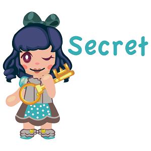 childrens books - secret