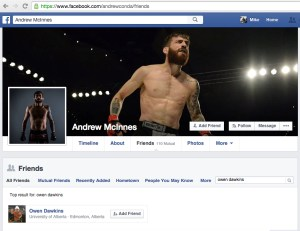 ANDREW MCINNES FB FRIENDS