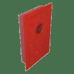 Caixa para mangueira de incêndio para hidrante de embutir