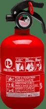 Extintor de incêndio automotivo 1 kg 5 anos tipo Fiat