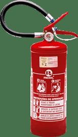 Extintor de incêndio portátil pó químico BC de 4 Kg