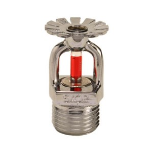 "Bico sprinkler 68 graus resposta padrão 15 mm 1/2"""