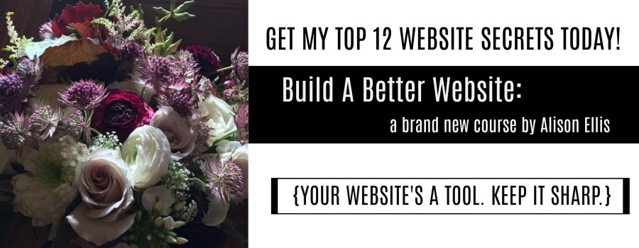 Build a better website, website tips for entrepreneurs