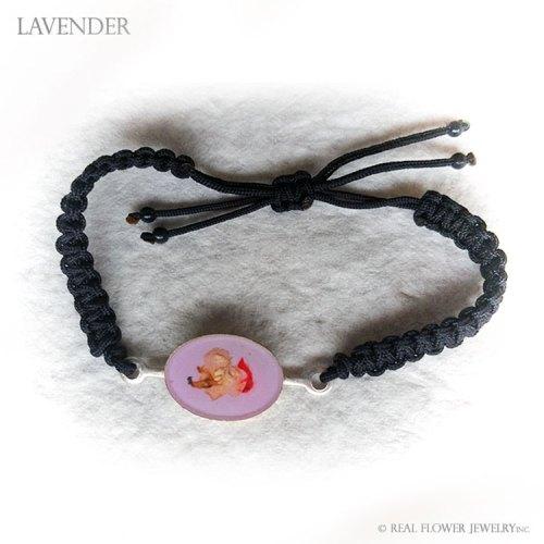 Wild Flower Bracelet (Lavender)