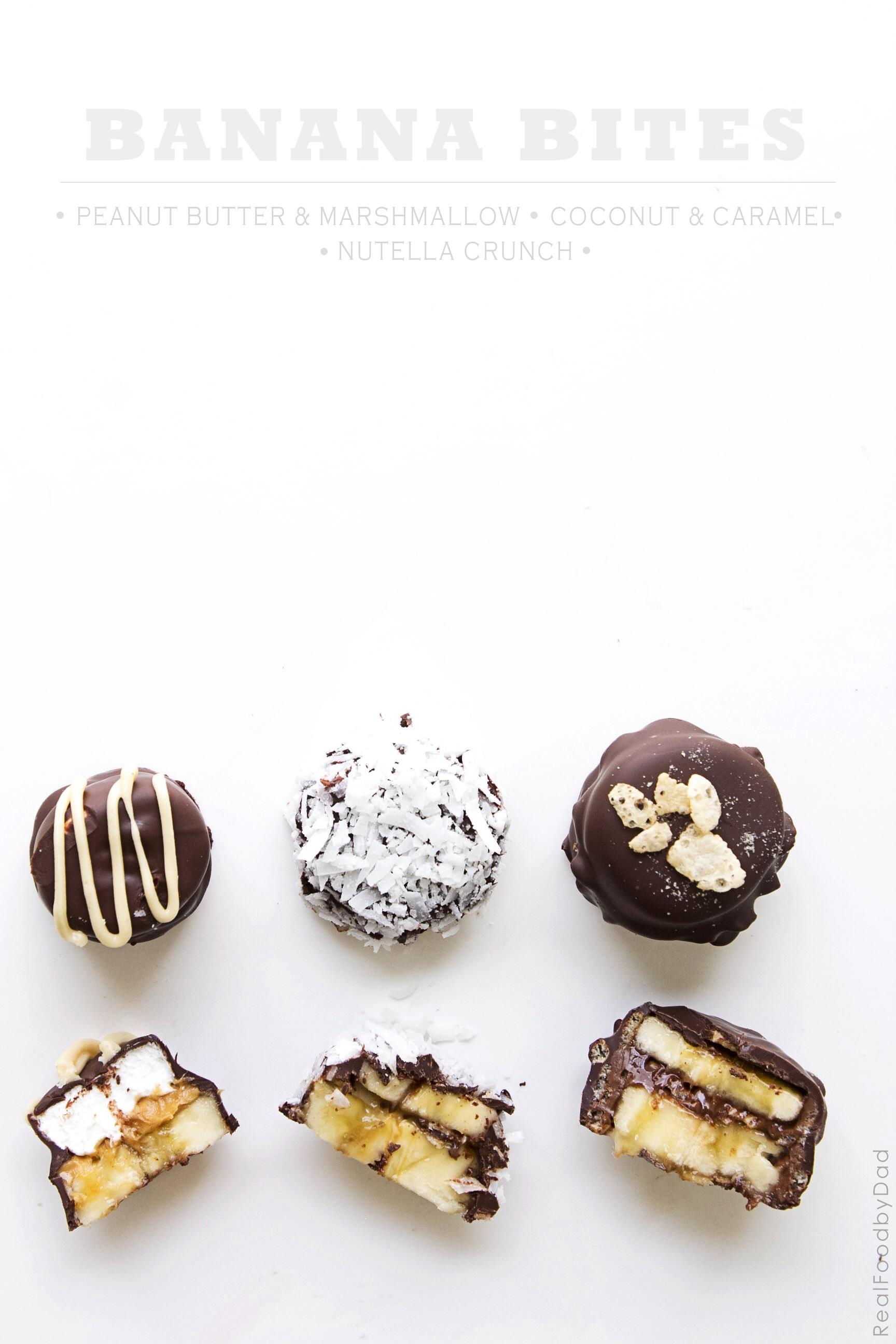 How to make chocolate covered banana bites