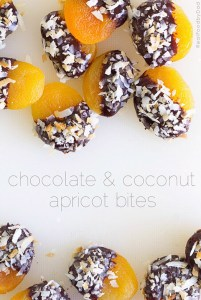 Chocolate dipped Apricots from Real Food by Dad