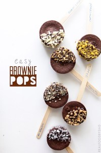 Easy Brownie Pop Recipe with Real Food by Dad