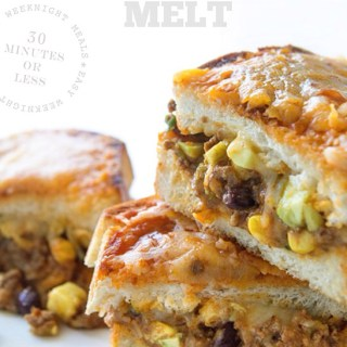 Beefy Enchilada Melt by Real Food by Dad