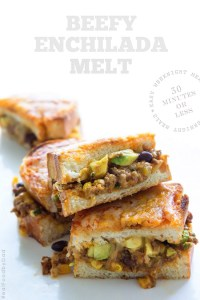 Beefy Enchilada Melt from Real Food by Dad
