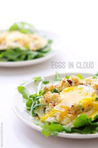 Eggs in Cloud by Real Food by Dad