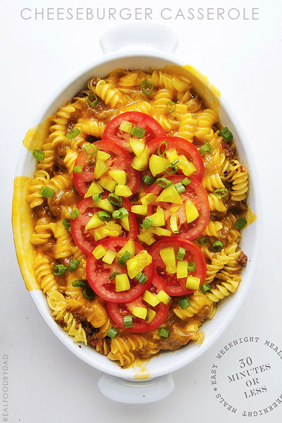 Cheeseburger Casserole by Real Food by Dad