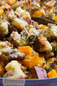 Butternut Squash Stuffing from Real Food by Dad