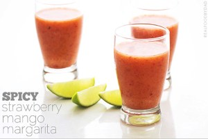 Spicy Strawberry Mango Margarita from Real Food by Dad copy