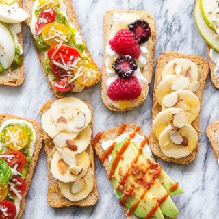 Sweet and Savory Crostinis