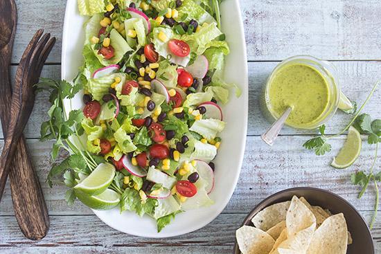 Tex Mex Salad via Real Food by Dad