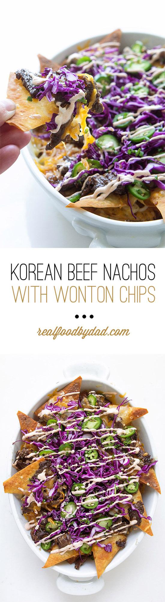 Korean Beef Nachos_Panel | Real Food by Dad