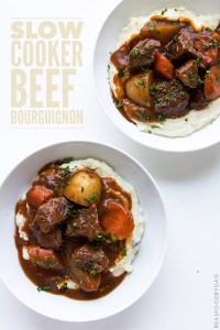 Slow Cooker Beef Bourguignon   Real Food by Dad