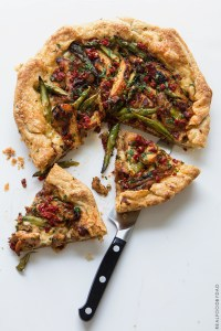 Grilled Chicken and Asparagus Tart via Real Food by Dad