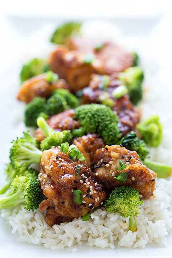 Teriyaki Chicken and Broccoli - Real Food by Dad