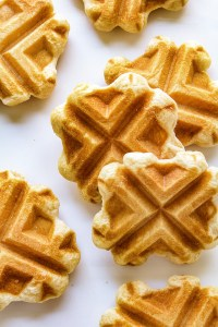 Perfect  Minute Waffles Real Food by Dad