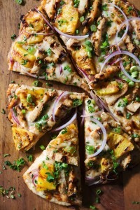 Hawaiian Grilled Chicken Pizza Real Food by dad