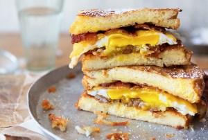 Big Breakfast Sandwich Real Food by Dad