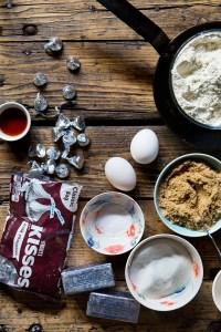 Smores Skillet Cookie Ingredients Real Food by Dad