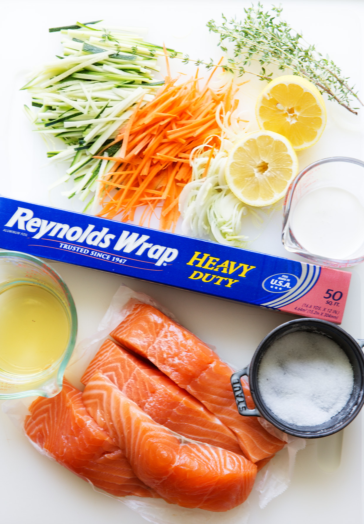 Salmon and Veggies in Foil Pack | Prep | Real Food by Dad