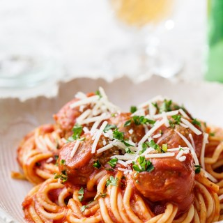 Slow Cooker Spaghetti via Real Food by Dad