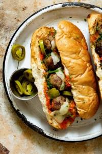 Grilled Meatball Sandwich RealFoodbyDad