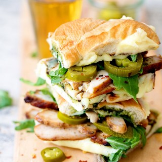 Grilled Chicken Pesto Subs