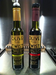 O&V from olive twist