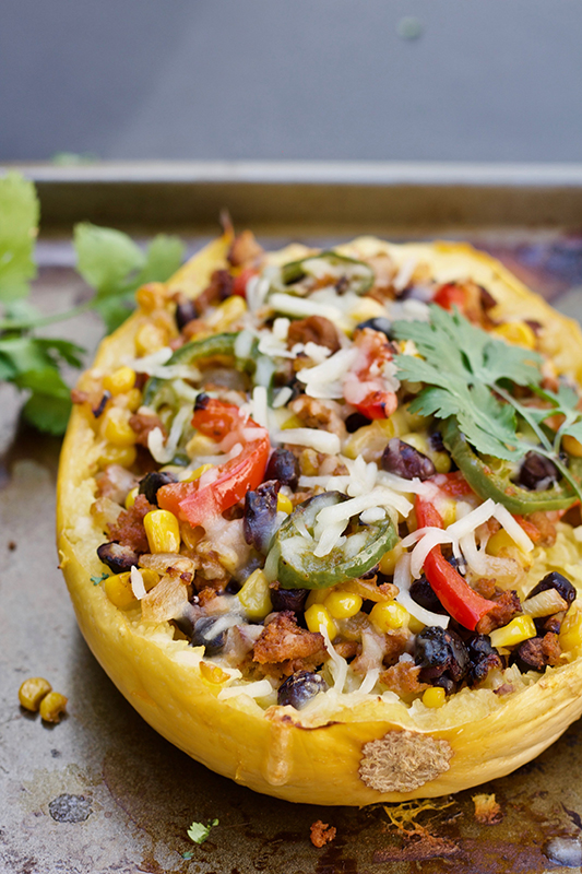 Visual Guide to Squash l easy mexican spaghetti squash