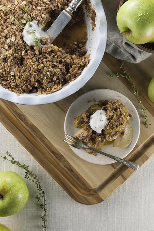 Green Dragon Apple Crisp | The perfect fall dessert