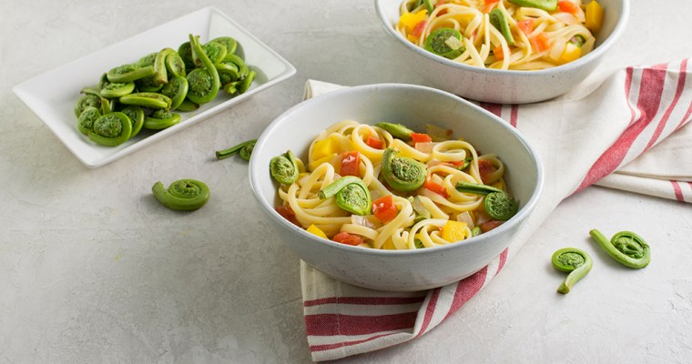 Fiddlehead Fern Linguini