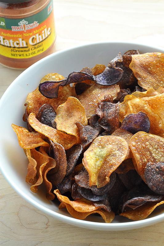 The Ultimate Potato Recipe Roundup l okinawan sweet potato and dutch yellow potato chips
