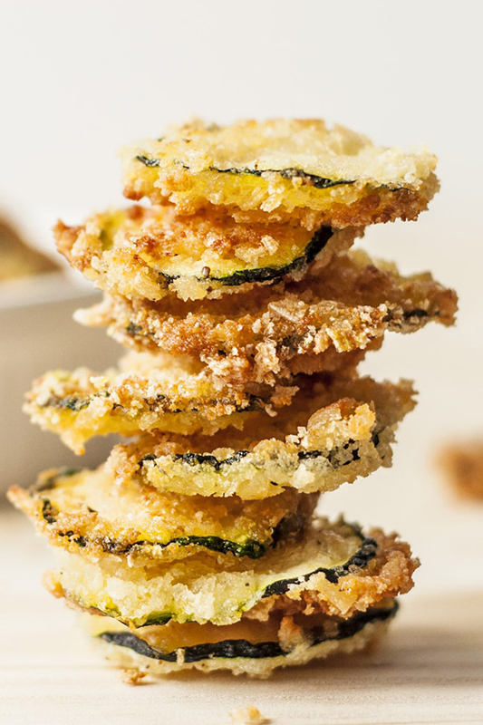 20 Healthy Tailgating Recipes that Score l oven baked zucchini chips