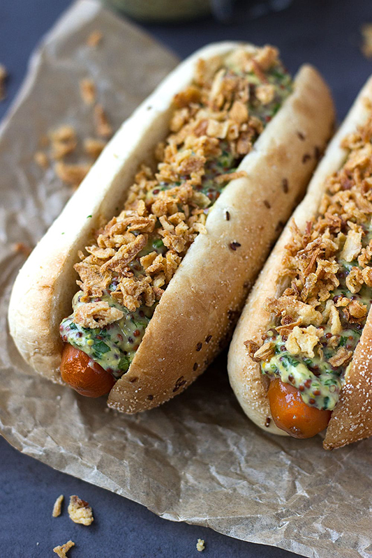 20 Healthy Tailgating Recipes that Score l carrot hot dogs