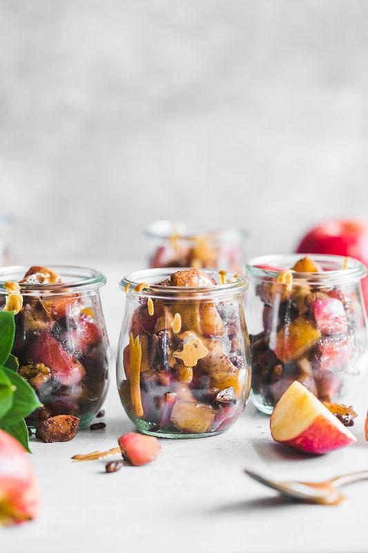 The Best of Whole30 Recipe Roundup l whole30 apple parfait