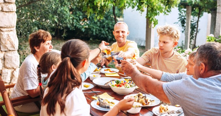 The Family Dinner Project: How to Get the Most out of Family Mealtime