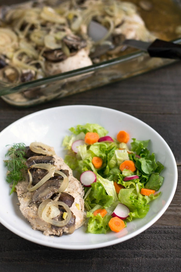 This creamy chicken marsala recipe is a delicious, kid friendly main dish. It's a healthy dinner that tastes great the next day too.