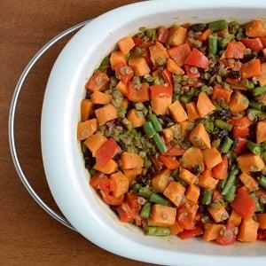 Lentil Sweet Potato Casserole