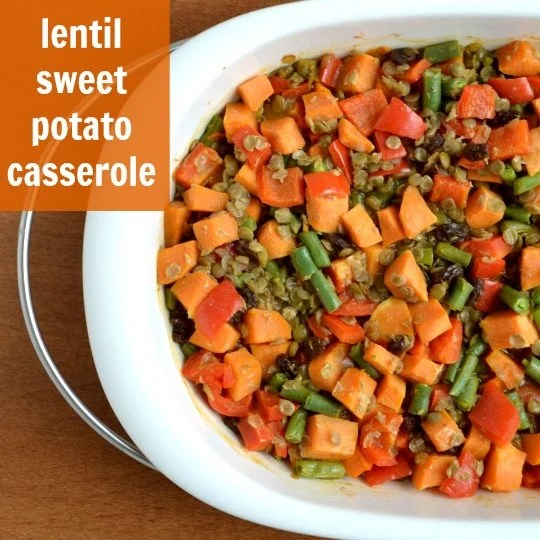 I always make this lentil sweet potato casserole when I want to detox after eating a lot of junk! This is the perfect healthy recipe to make you feel better.